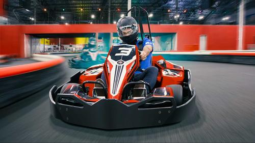 Go-karting at K1 Speed