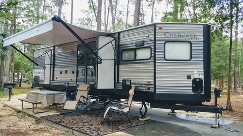 Luxury camper rentals
