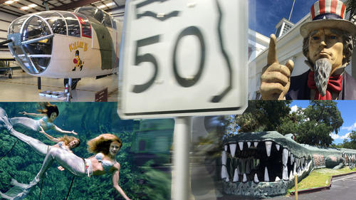 50 things to do when traveling State Road 50