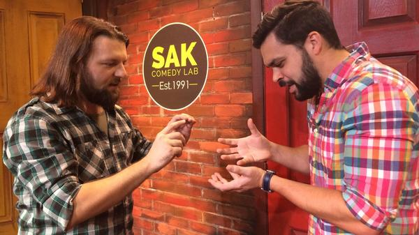 Improv classes at SAK Comedy Lab